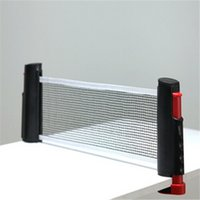 Wholesale NEW Portable Telescopic Retractable Table Tennis Net Rack Replacement Ping Pong Net Fitness Sports Exercise