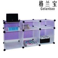 Wholesale Diy pack frame storage rack finishing frame shelf shoe hanger wardrobe storage cabinet