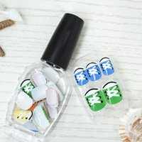 Wholesale 2014 new design beautiful Press on nails
