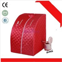 Wholesale EU tax free UK shipping Best Steam Sauna Room SALON THERAPEUTIC DETOX SLIMMING SPA WATERPROOF home use