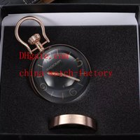 Wholesale Luxury PAM00581 PAM581 Days mm Stainless Steel Table Clock Watch With Original Box Papers Black Silver Rose Gold