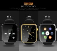 Wholesale 2015 New Smartwatch A9 Bluetooth Smart watch for Apple iPhone Samsung Android Phone Heart rate measurement steps remote take photos