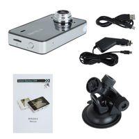 automobile video camera - K6000 HD P Vehicle Blackbox Car DVR Camcorder video Camera with quot TFT LCD Screen Automobile Data Recorder Tachograph