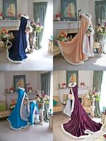 Wholesale Hot Bridal Cape Wedding Cloaks Faux Fur Perfect For Winter Wedding Bridal Cloaks For Winter Spring