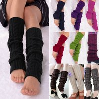 ankle boot covers - Hot Sales Ladies Women Dance Knitted Leg Warmers Warm Socks Stocking Hosiery Legging Boot Covers fx279
