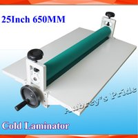 cold laminator - NEW All Metal Frame quot mm Manual Laminating Machine Photo Vinyl Protect Rubber Cold Laminator