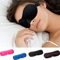 Sleeping Aids - Multicolor D Seamless Breathable Eye Mask Shade Cover Rest Sleep Eyepatch Blindfold Shield Travel Sleeping Aid
