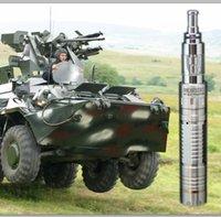 Cheap Wholesale-High quality Love me ECig Kit Newest Mechanical Mods Panzer mech Mod V2 atomizer Maraxus Mod 18650 Battery E cig kit Free DHL