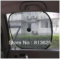 Wholesale Black Side Car Sun Shade Rear Window Sunshade Cover Mesh Visor Shield Screen