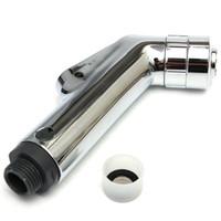 bidet sale - Brand New Double Mode Chrome ABS Sprayer hand held toilet bidet spray shattaf spray factory sale toilet shower jet set
