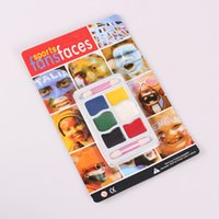 Wholesale High quality Colors Halloween Face Paint Party Sports Face Paints water proof Face art Festive Tattoo