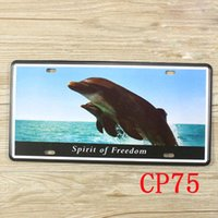 Wholesale CP75 Sprite of freedom Metal Tin Signs License Plate Bar Pub Cafe Home Art Metal Signs Size about cm