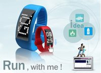 Wholesale Smart Ring Smartwatch Bracelet W4 Intelligent Watch Band Usb Pedometer Computer Sync Bluetooth Smartwatch