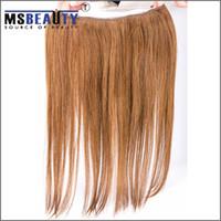 Cheap 1B# flip in hair extensions Best 100g Straight flip in