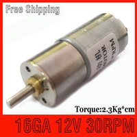 12v dc motor - high torque NEW MM RPM V DC Gearmotor v motor dc gear brushless dc motor fan gearmotor boat speed control motor
