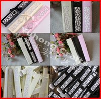 Wholesale 50pcs Cardboard paper Box Fan Box Used to Store the Fan or necklace as wedding gift favor holders