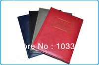 Wholesale big size postal stamp album collection book stock book retail