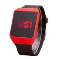 cheap digital watches - Cheap plastic gift watches fashion children s led dispaly watches led plastic fashion dress watches squared led watches fashion gift watches