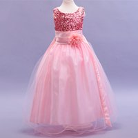 arabian princess party - 2016 Newest kids wedding dresses Pageant Party Dresses girl baby girl lace wedding dresses saudi arabian wedding dress
