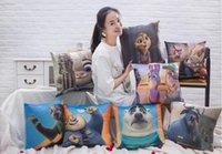 big city movie - Crazy animal models with the surrounding city pillow doll Judy Fox rabbit doll plush toys children gift