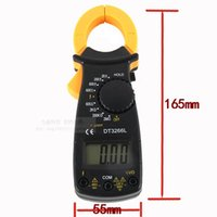 Wholesale High quality digital display clip on table multimeter with buzzer