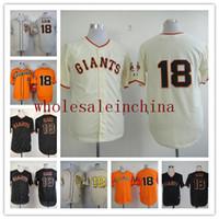 Wholesale GIANTS Baseball Jerseys Men CAIN White Grey CREAM Black Orange Jerseys stitched Top quality Mix Order Free Fast Shipping