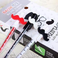 Notes beard art - Bai Jia gel pen gel pen creative stationery lovely beard customized gifts School gift shopping