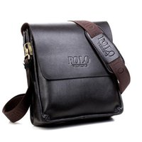 Wholesale Brand New Leather Men Shoulder Crossbody Messenger Bag Purse Handbag Vintage Designer Satchel Mochila Bolsos
