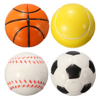 basketball stress ball - Hot Hand Wrist Exercise Stress Relief Squeeze Soft Foam Ball vollyball baseball Basketball Football Gift Toy Fitness Balls