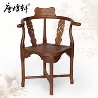 Wholesale Factory direct Tang Huang Xuan classical furniture wenge wood tea triangle chair chair lounge chair armchair