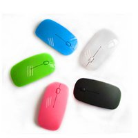 Wholesale 2 Ghz USB Wireless mouse for computer optical mouse gaming mouse Candy Color