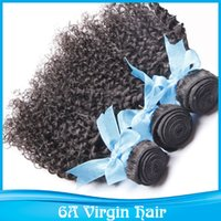 cyber monday - Cyber Monday Sale Kinky Curly Brazilian Human Virgin Hair Extensions Nature Color Dyeable Bleachable