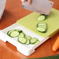cutting board - Creative thick cutting board drawer can be incorporated easily hold down combo cutting board chopping board Chopping Blocks