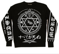 Long Sleeve rune - New fashion sweater Rune printing Harajuku Style Totem Magic Fashionable Men Sweater high quality Casual Shirts
