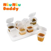baby memory boxes - Baby food baby food supplement memory storage box crisper baby milk box lunch snack tableware