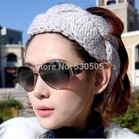 alice crochet - Classic handmade knitting headband Alice band wide hair ribbon crochet tenia Can Mix quantity and color free DHL EMS fedex