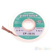 Wholesale 10pcs ft mm Desoldering Braid Solder Remover Wick GOOT Wire P4 TG2