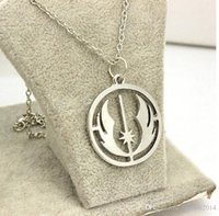 Wholesale Hot Sale star wars Jedi pendant necklaces statement Jewelry For Men and Women Children Christmas Gifts DHgate Necklace
