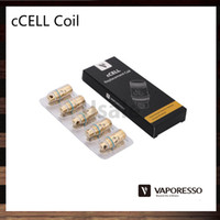 ceramics - Vaporesso Ceramic cCELL Coils ohm ohm ohm Ni200 ohm cCELL Replacement Coil Head For Target Tank Original
