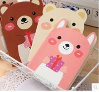 Wholesale Kawaii Rilakkuma Cover Portable Pocketbook cm Sheets Craetive Korean Stationary A6 Soft Copybook Notepad Paperlaria