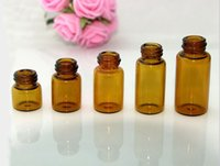 Wholesale 2015 Factory Refillable perfume glass bottles essential oil bottle ml ml ml ml ml ml ml Free DHL EMS