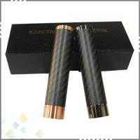 copper - Paragon V2 Mod Clone Paragon Mod Full Mechanical Red Copper Carbon Fiber Paragon Mod Clone Eletronic Cigarette DHL Free