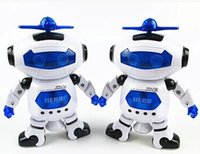 Wholesale 25pcs Dancing Robert Electronic Toys With Music And Lightening Best Gift For Kids HL