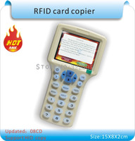 Wholesale English ver styles RFID Card Read Writer RFID Copier Programmer copy encrypted to Sector Rewritable KeyFob