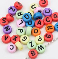 letter beads - New mm MIC A Z Assorted Alphabet Letter Loose Beads Craft Making