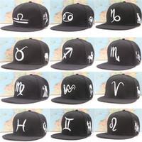 basic chemicals - 2016 New Zodiac baseball cap hat flat plain basic white color shade Bill cricket