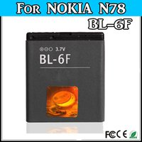 Cheap wholesale replacement phone battery For Nokia BL-6F BL 6F N78 N79 N95 6788 6788i Battery