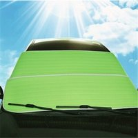 Wholesale Thicken Foils Sun Snow Shade Car Windshield Visor Cover Block Front Window Sunshade UV Protect Car Window Film IC872360