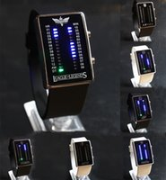 Wholesale Digital LED touch screen wristwatch Valentine s Day gift Men women all kinds animation square dial Silicone strap wristwatch