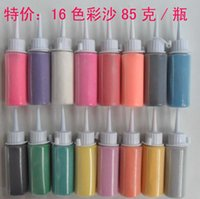 colored sand - Bottled colors sand painting wedding sand painting colored sand for painting g bottle